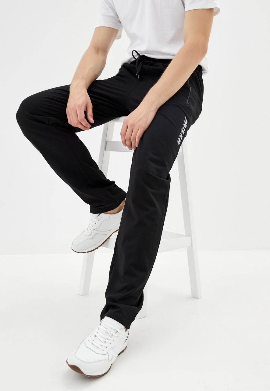 Чоловічі спортивні штани з турецького трикотажу Tailer розміри 58-64