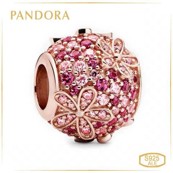 Пандора Шарм Очаровательная розовая маргаритка Rose Pandora 788797C01
