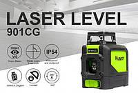 Лазерний рівень Huepar 5 зелених ліній HP-901CG, фото 1