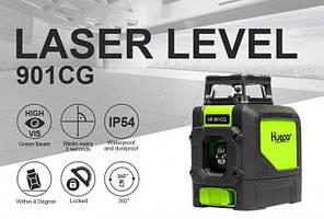 Лазерний рівень Huepar 5 зелених ліній HP-901CG