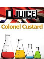 Набор для замеса жидкости T-Juice Colonel Custard 100 мл.