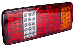 Фонарь LED задний универсальный 340 х 135 х 30 24 В