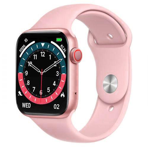 Смарт часы Smart Watch NK03, голосовой вызов, IP67 умные часы цвет розовый