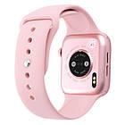 Смарт часы Smart Watch NK03, голосовой вызов, IP67 умные часы цвет розовый, фото 3