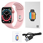 Смарт часы Smart Watch NK03, голосовой вызов, IP67 умные часы цвет розовый, фото 6
