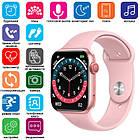 Смарт часы Smart Watch NK03, голосовой вызов, IP67 умные часы цвет розовый, фото 5