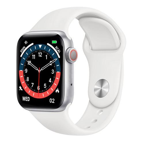 Смарт часы Smart Watch NK03, голосовой вызов, IP67 умные часы цвет white
