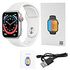 Смарт часы Smart Watch NK03, голосовой вызов, IP67 умные часы цвет white, фото 6