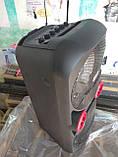 Портативная колонка с радиомикрофоном LiGE-2802 50W (FM/USB/Bluetooth) Супер звук!, фото 6
