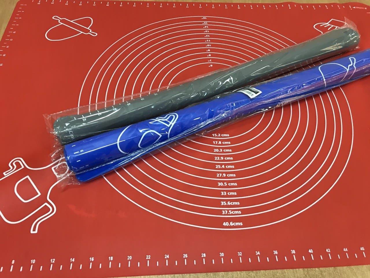 Силиконовый коврик 70*50 см с разметкой для коржей (для раскатки и выпечки)