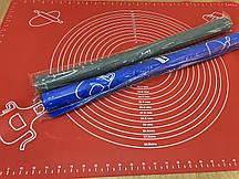 Силіконовий килимок 70*50 см з розміткою для коржів (для розкочування і випічки)