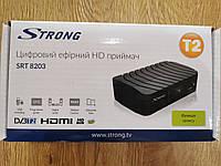 Цифровой Т2 тюнер DVB-T2 Strong SRT 8203