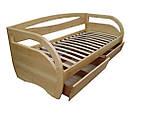 Дерев'яне ліжко з ящиками Баварія, фото 10