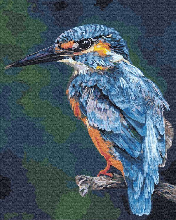 Картина по номерам 40х50 см Brushme Тропическая птица (GX 35762)