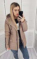 Куртка женская, арт. 416, цвет:кофе