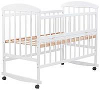 Кровать Наталка ОБО откидной бок ольха белая