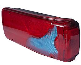 Фонарь LED задний универсальный 400 х 160 х 85 24В R