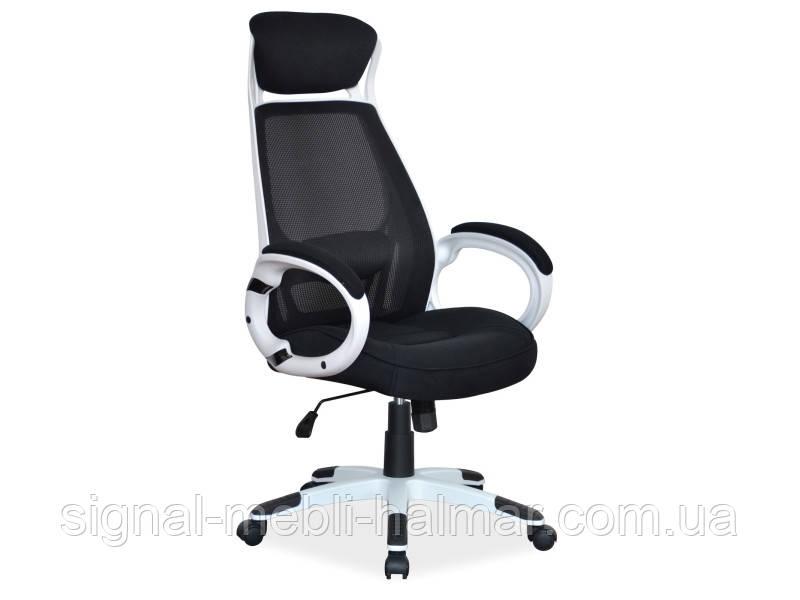Офісне крісло Q-409 чорно/білий (Signal)