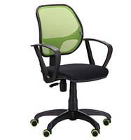 Офисное кресло АМФ-7 Бит сетка салатовая