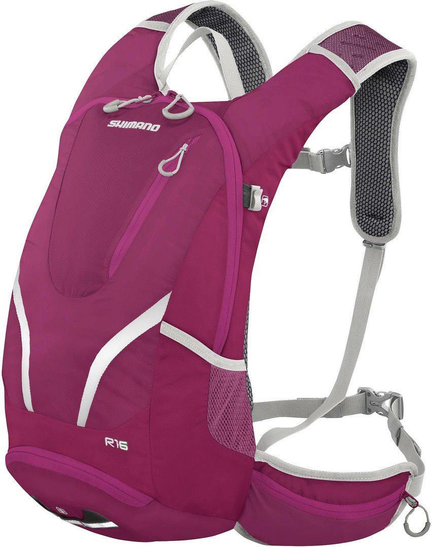 Велосипедний Рюкзак SHIMANO ROKKO 16L, фіолетовий