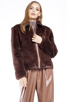 Шуба женская коричневая TRG 128808S