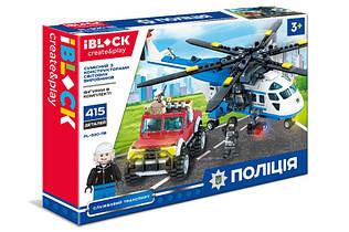Конструктор Iblock Полиция PL-920-118 Служебный транспорт
