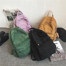Міський рюкзак з полотна