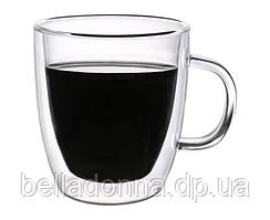 Набор чашек с двойными стенками Con Brio CB-8435-2 (2шт|350мл)