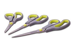 Набор ножниц кухонных Kamille - 192 x 215 x 245 мм (3 шт.) (5186), (Оригинал)