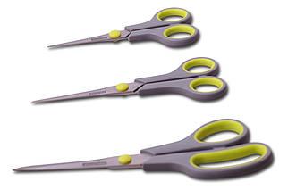 Набір кухонних ножиць Kamille - 140 x 170 x 215 мм (3 шт) (5187), (Оригінал)