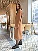 Премиальное длинное демисезонное пальто халат Милана, фото 5