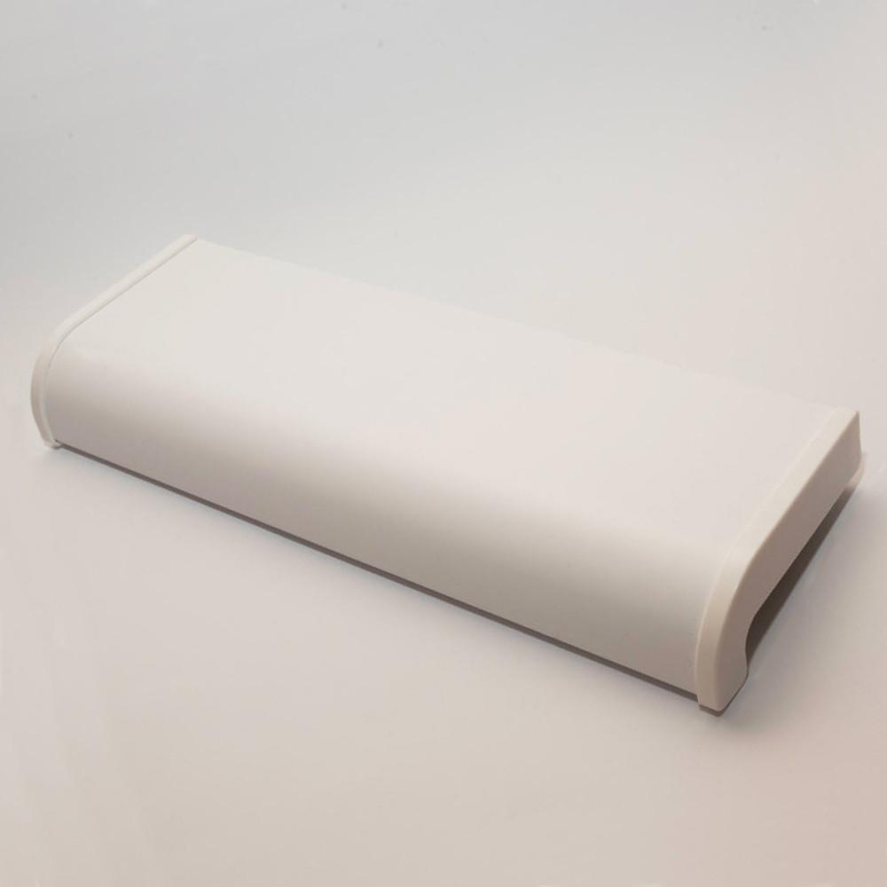 Подоконник OpenTeck SOFT (ОпенТек Софт) 300мм х 1410мм матовый белый (ОТРЕЗОК)