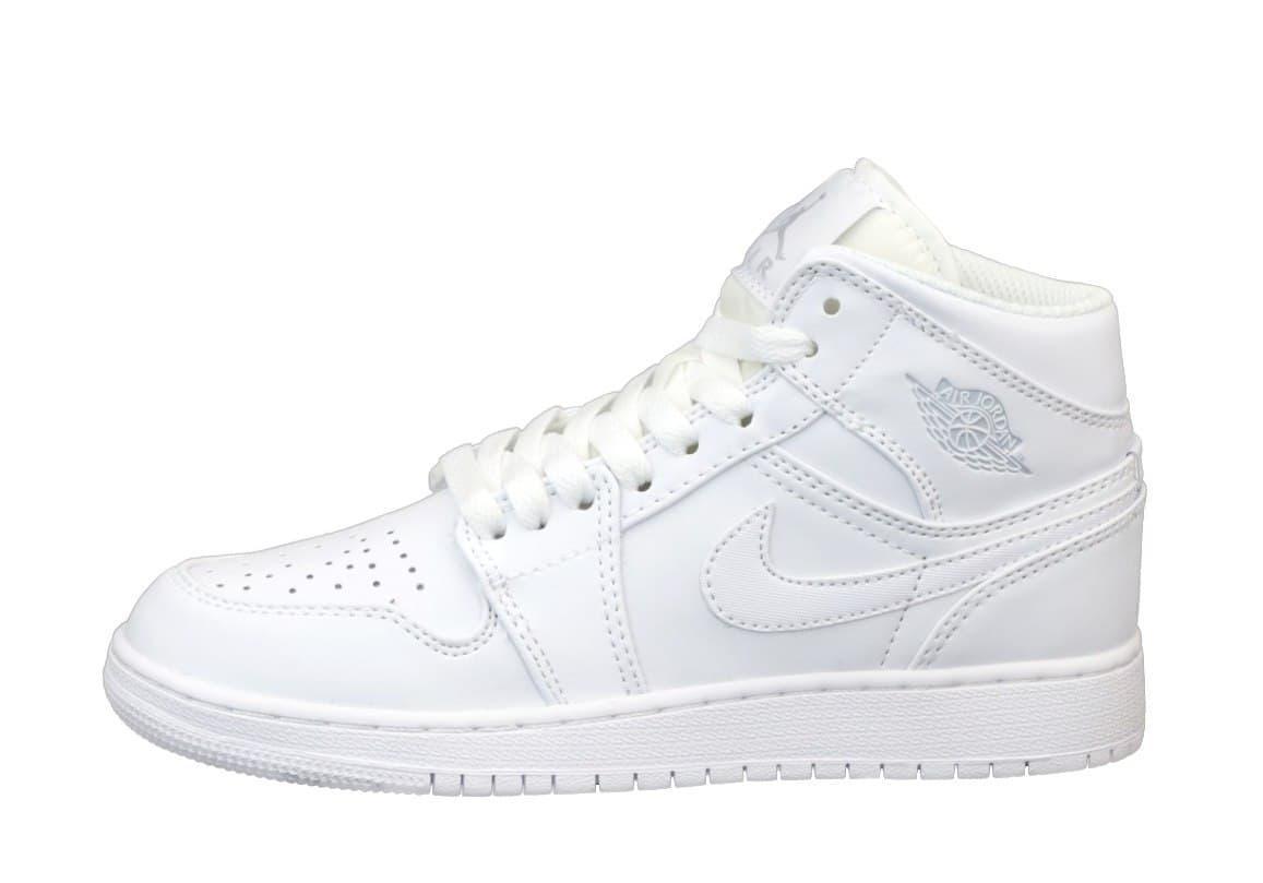 Баскетбольные кроссовки Air Jordan 1 Retro High White