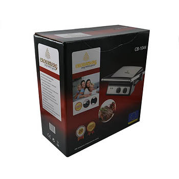 Контактный электрогриль BBQ CB-1044 D100