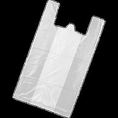 Пакет-майка без рисунка 24*42 (уп/100шт) (7 мкр)