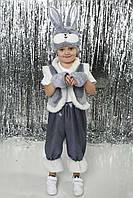 """Дитячий новорічний костюм """"Сірий кіт"""""""