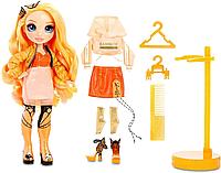 Кукла Рейнбоу Хай Поппи Роуэн Оранжевая Rainbow High Poppy Rowan Orange Fashion Оригинал Роуен Рован, фото 1