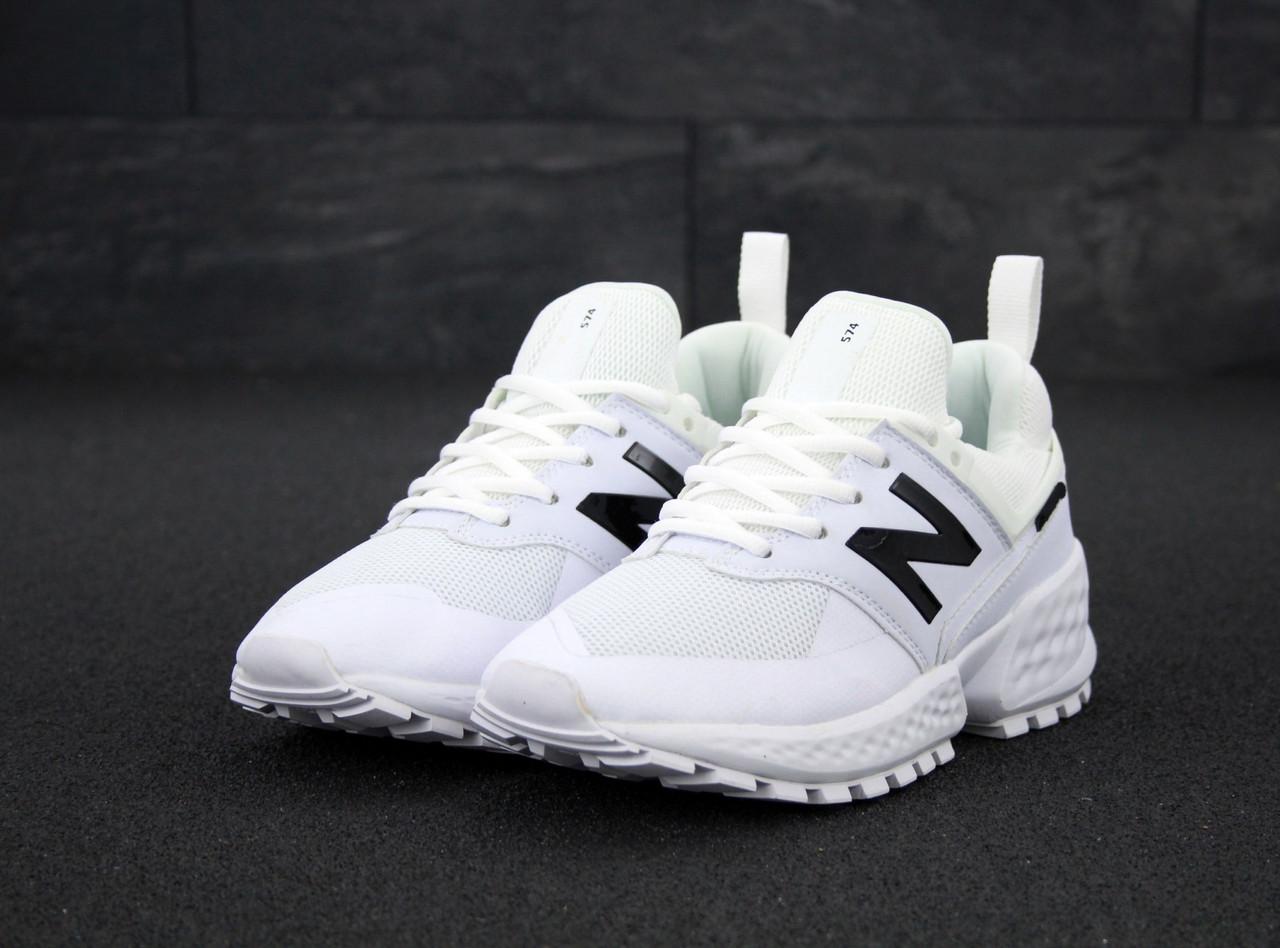 Жіночі білі Кросівки New Balance 574 Sport V2