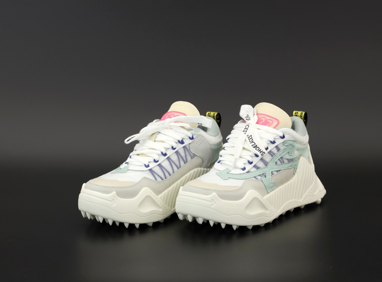 Жіночі білі Кросівки OFF White Odsy 1000