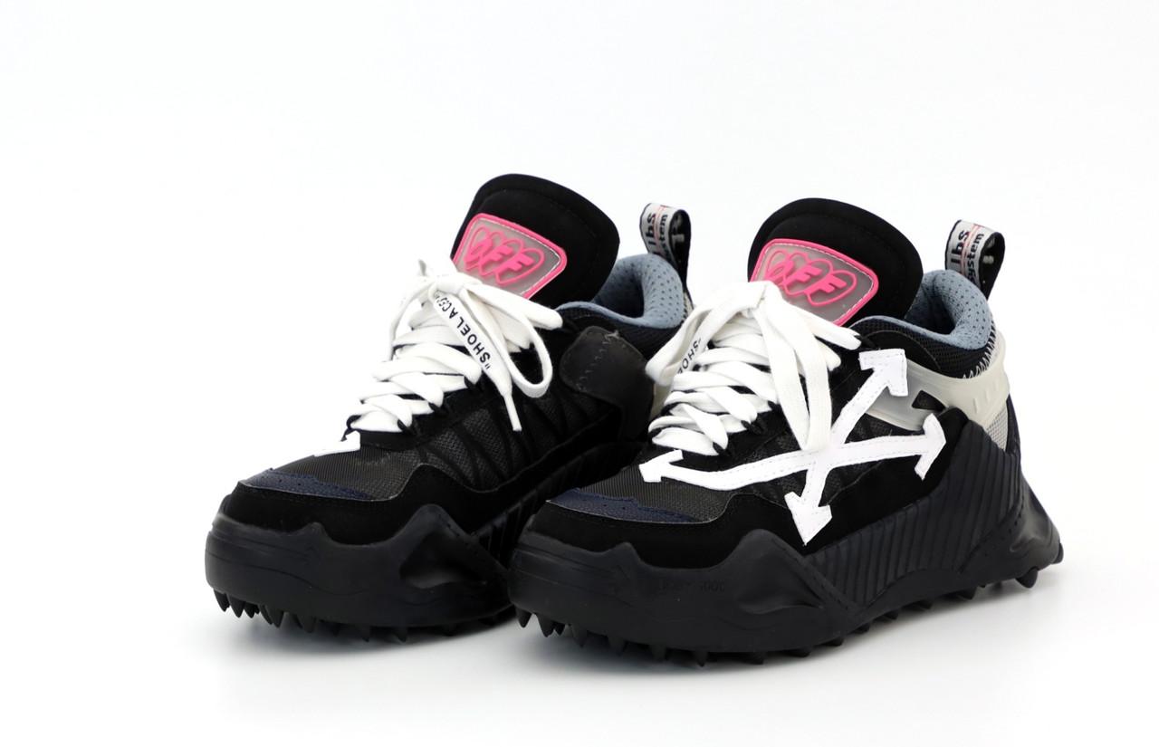 Жіночі чорні Кросівки OFF White Odsy 1000