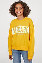 Свитшот Chicago H&M на девочку 10-12 лет