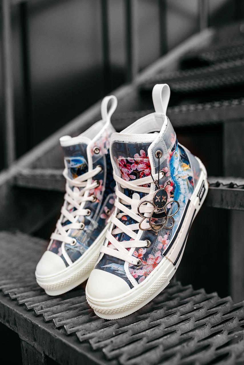 Женские белые Кроссовки Dior Sneakers