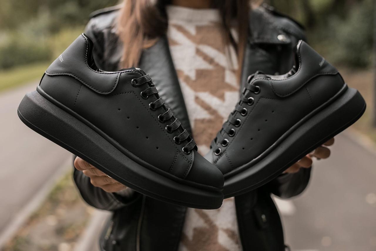 Жіночі чорні Кросівки Alexander Mcqueen