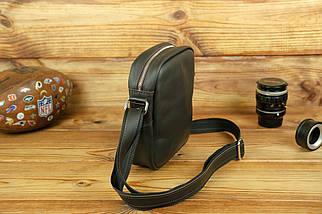 """Чоловіча сумка """"Модель №64"""", шкіра Grand, колір Шоколад, фото 2"""