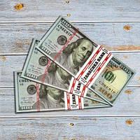 Подарочные деньги 100 долларов, фото 1
