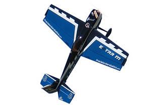 Самолёт радиоуправляемый Precision Aerobatics Extra MX 1472мм KIT (синий)