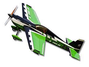 Самолёт радиоуправляемый Precision Aerobatics Extra MX 1472мм KIT (зеленый)