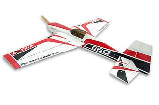Самолёт радиоуправляемый Precision Aerobatics Extra 260 1219мм KIT (красный)