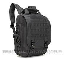 Сумка-рюкзак тактическая TacticBag A28 30 л Черная (009363)