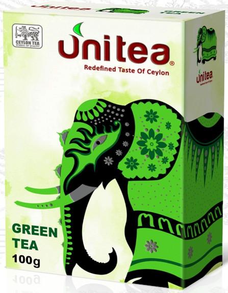 Чай зелений крупнолистовий Unitea 100 грам